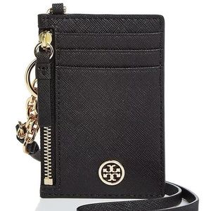 Authentic Tory Burch leather detachable lanyard ❤️